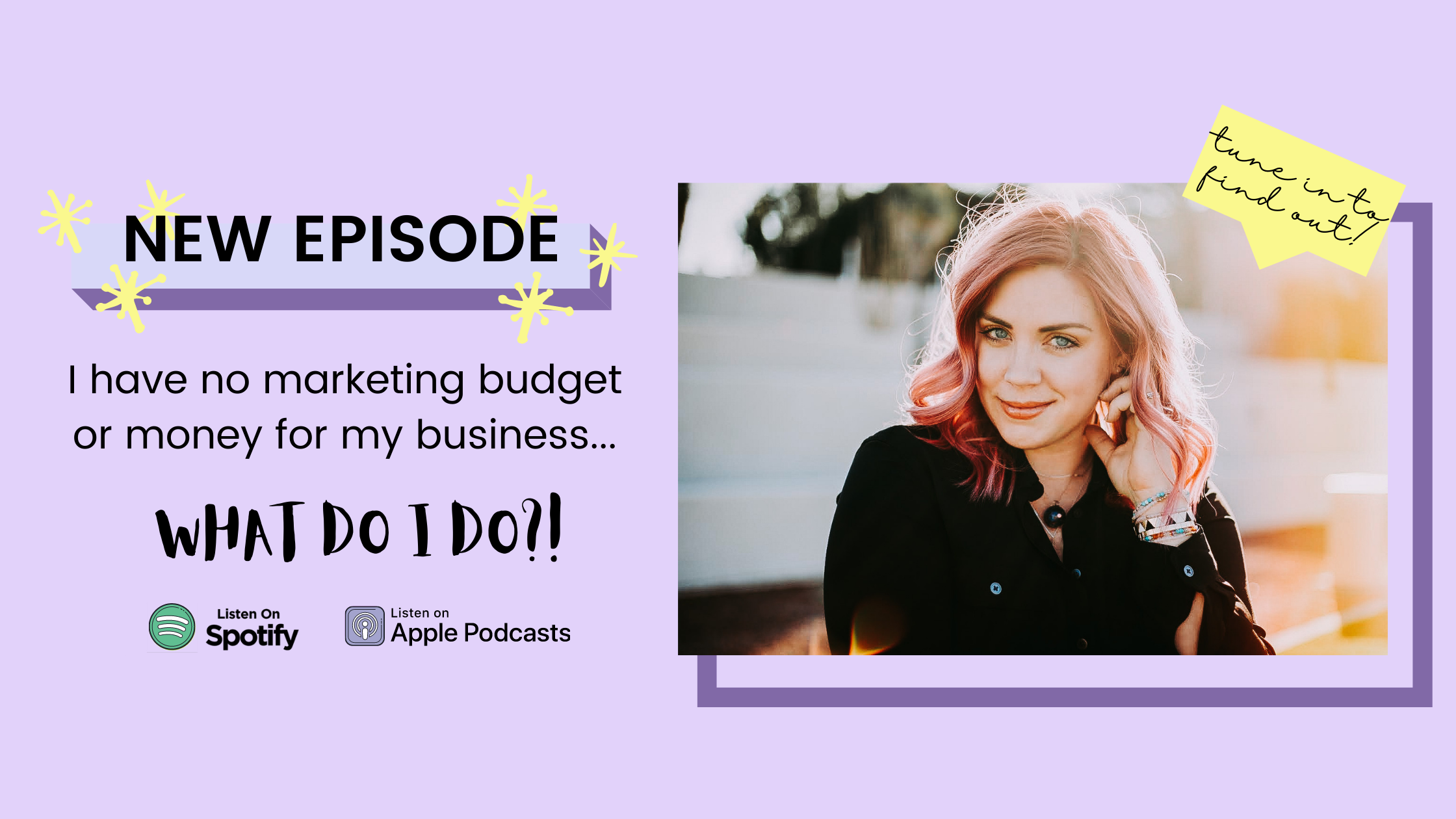 EP12 - How to not feel inferior when you have a small marketing budget and what to do