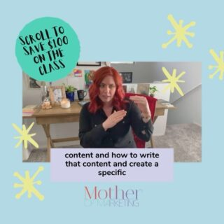 "Writing IG captions can be a daunting task TBH. ⁠⠀ ⁠⠀ Everyone thinks the standard is writing some elaborate spiritual awakening, and that's not the case at all. ⁠⠀ ⁠⠀ A sentence or two suffices. But if you do want to dive into a more elaborate post, I have a few tips. In this video I'm discussing one small portion of an Instagram caption tip and I dive WAY deeper into it in my Instagram Masterclass. ⁠⠀ ⁠⠀ Taking a class from someone teaching you how to use Instagram from their perspective doesn't work for everyone. It actually doesn't work for anyone because more than likely that one individual with hundreds of thousands of followers got lucky…or they bought their way to fame.⁠⠀ ⁠⠀ How do I know? I've tried it. I've tested it. Buying followers and ""posting great content"" doesn't get you customers.⁠⠀ ⁠⠀ This is the ultimate online course that teaches you everything you need to know about how to Master Your Instagram account without spending gobs of money on fake followers.⁠⠀ ⁠⠀ Real words, real followers, and real results. ⁠⠀ ⁠⠀ I also have some great free webinars coming up where attendees will have the ability to gain access to a special code giving them $100 off the Instagram Masterclass. ⁠⠀ ⁠⠀ Head over to my bio and click on"